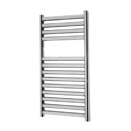Abacus Elegance Linea Straight Towel Rail - 600mm x 300mm - Polished Stainless Steel